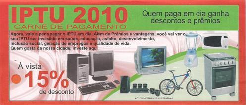 IPTU 2010
